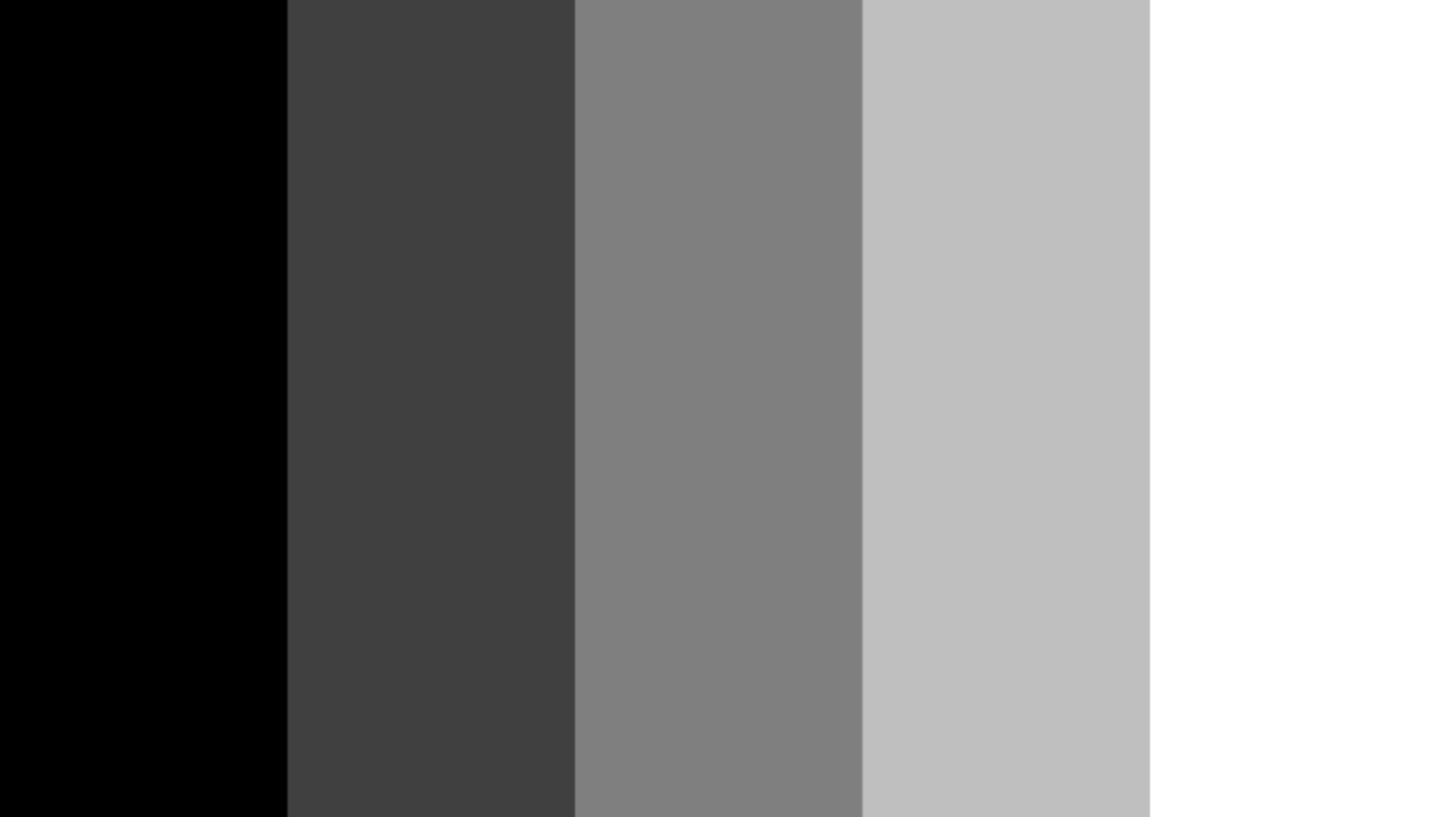 Ramp Texture (For Toon Shading)
